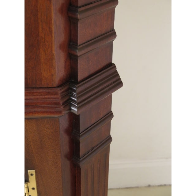 Councill Furniture Councill Craftsmen Chippendale Mahogany Corner Cabinets- A Pair For Sale - Image 4 of 13