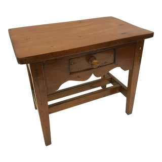 Antique Miniature Writing Desk Model