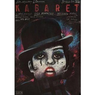Cabaret R1980s Polish B1 Film Poster For Sale