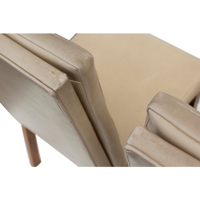 Tan Johnson Furniture Tufted Dining Chairs - Set of 4 For Sale - Image 8 of 12