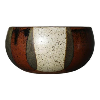 """David Cressey """"Flame Glaze"""" Planter for Architectural Pottery, Circa 1970 For Sale"""