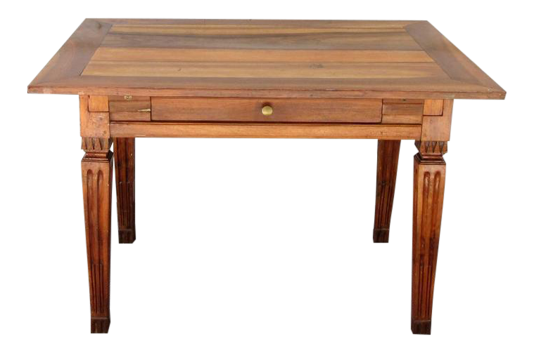 Fine Late 18th Century Italian Neoclassical Fruitwood Table DECASO