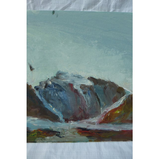 MCM Painting of Rocky Ocean H.L. Musgrave - Image 4 of 6