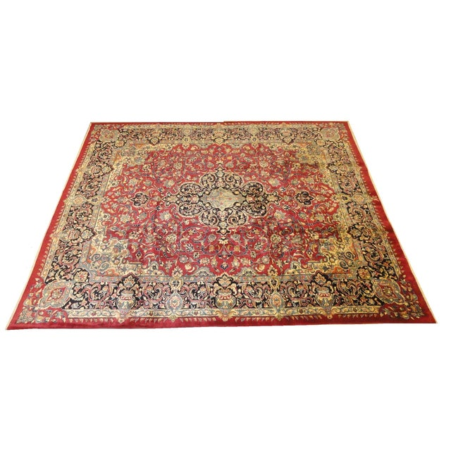 """Persian Khorassan Rug - 9'10"""" x 12'2"""" For Sale"""