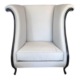 Christopher Guy Designer Vernier Arm Chair For Sale