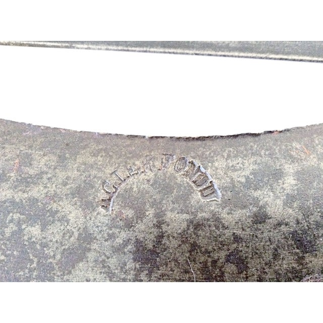 French Chopping Tools - A Pair - Image 3 of 6
