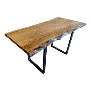 Gambrell Renard Live Edge Table For Sale