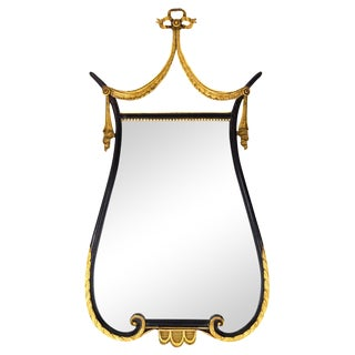 French Empire Lyre Mirror