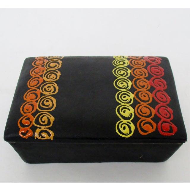 Bitossi Rosenthal Netter Ceramic Box For Sale - Image 9 of 9
