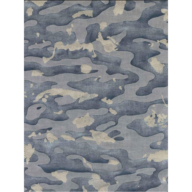 This listing is for a beautiful Mariano Fortuny designer fabric. Manufacturer: Mariano Fortuny Pattern: Camo Isole Style:...
