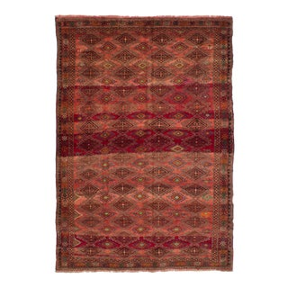 Sweater Weather Semi Antique Persian Rug - 6′8″ × 10′4″ For Sale