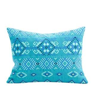 Guatemalan Turquoise Pillow