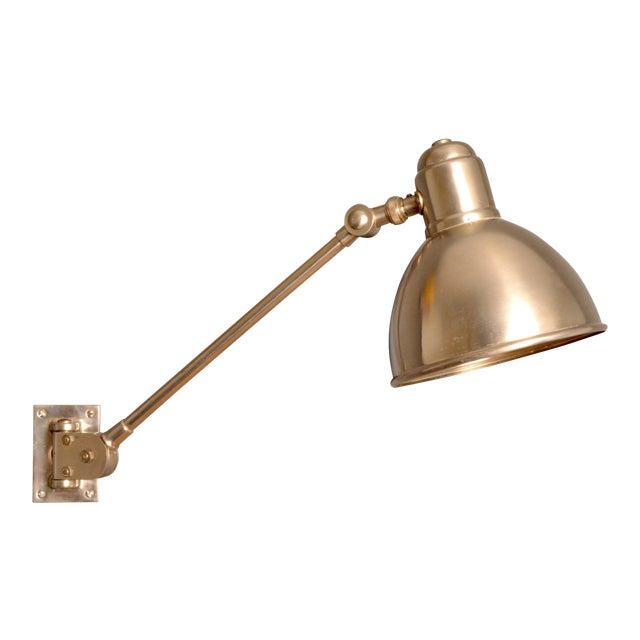 Bag Turgi Wall Lamp, Switzerland, 1930s For Sale