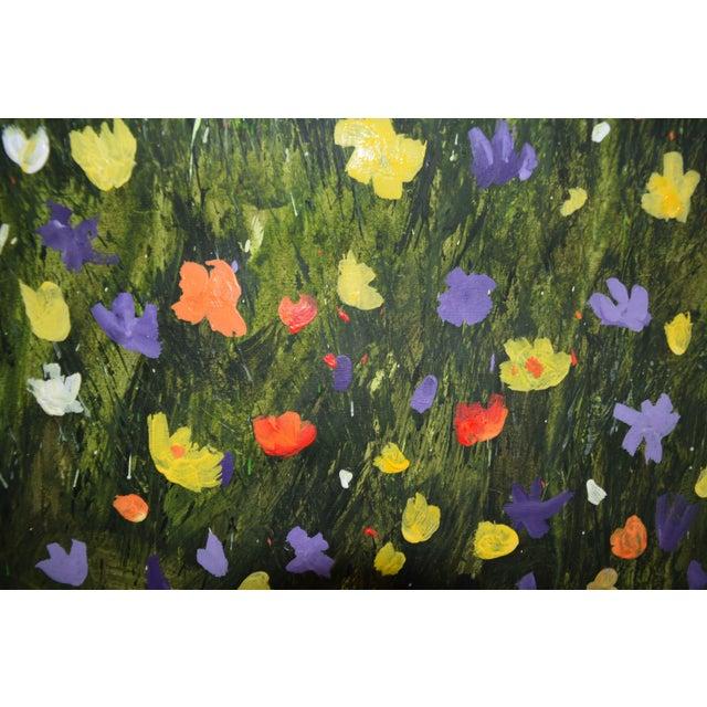 """Flowerfield Three"" Painting - Image 8 of 8"