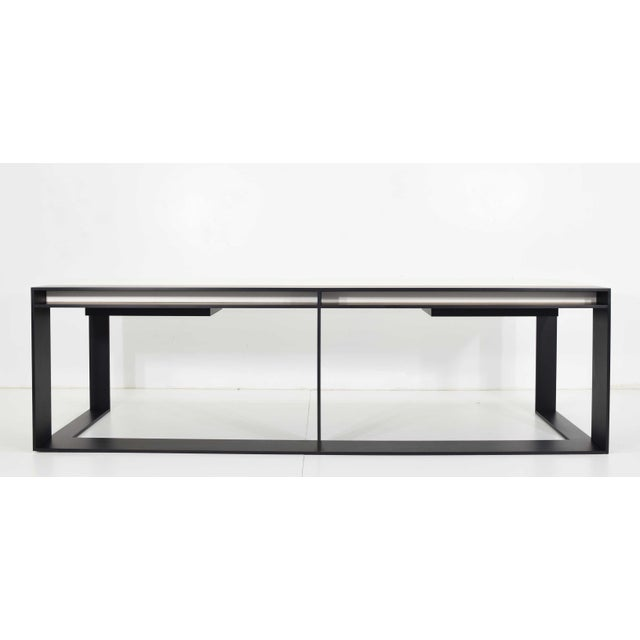 Christian Liaigre Connectable Leather Desk For Sale - Image 12 of 12