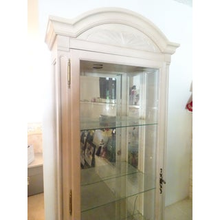Vintage Glass Curio Tall Cabinet Preview