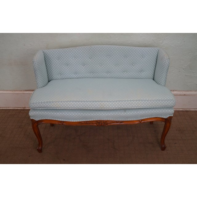 Vintage French Louis XV Style Window Bench - Image 2 of 10