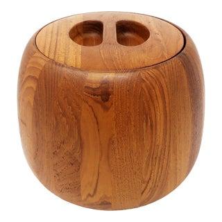 Danish Modern Teak Ice Bucket by Jens Quistgaard for Dansk For Sale