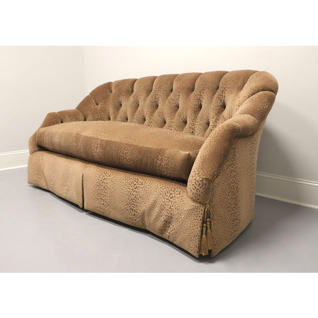 """Transitional Marge Carson Transitional 74"""" Loveseat For Sale - Image 3 of 13"""