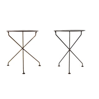Parisian Bistro Tables - A Pair For Sale
