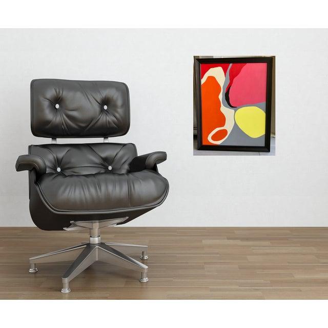 2010s Organic Abstract Acrylic Painting | Chairish