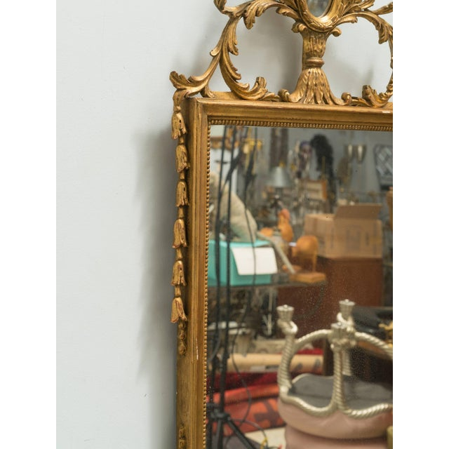 Italian Giltwood Mirror For Sale - Image 4 of 8
