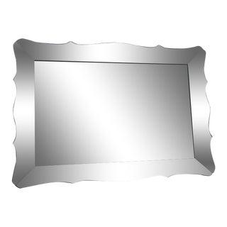 Vintage Venetian Frame Wall Mirror For Sale