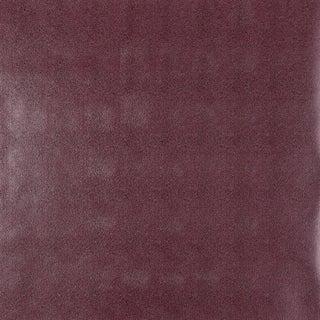 Schumacher Shagreen Wallpaper in Cordovan For Sale