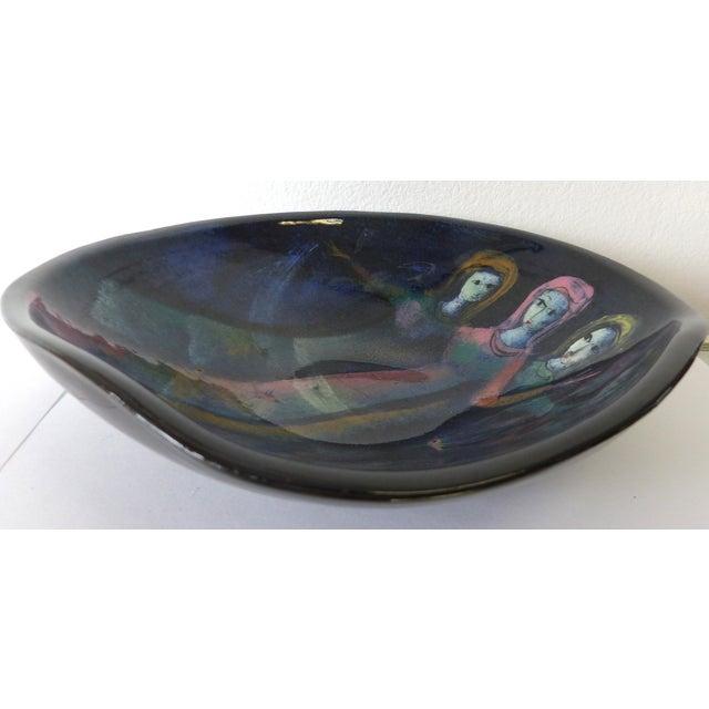 Figural Ceramic Bowl by Polia Pillin - Image 4 of 5