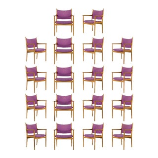 18 Hans Wegner JH-509 Armchairs For Sale