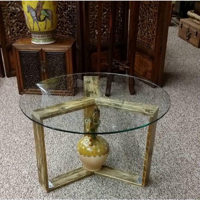 Custom Pallet Wood Side Table - Image 7 of 9
