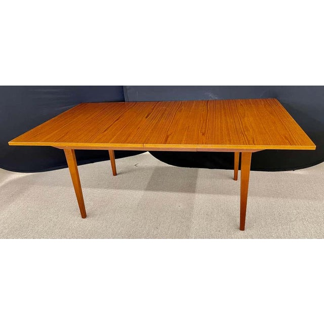 George Nelson Herman Miller Dining Table, Mid-Century Modern Teak Wood For Sale - Image 9 of 13