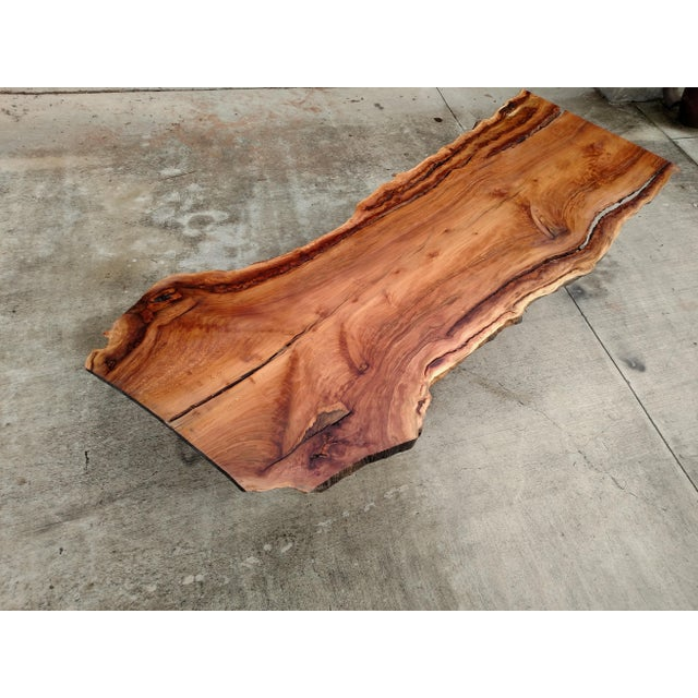 Gambrell Live Edge Table For Sale - Image 4 of 4