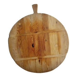Antique French Charcuterie Cheese Board For Sale