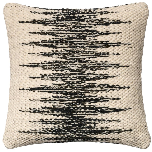 Black & Ivory Loloi Chaney Pillow - Image 1 of 3