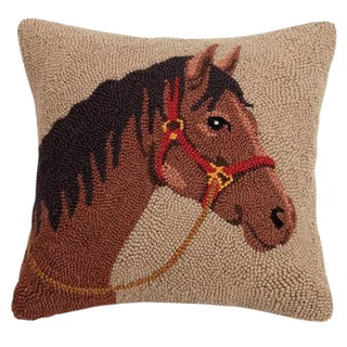 Horse Hook Pillow For Sale