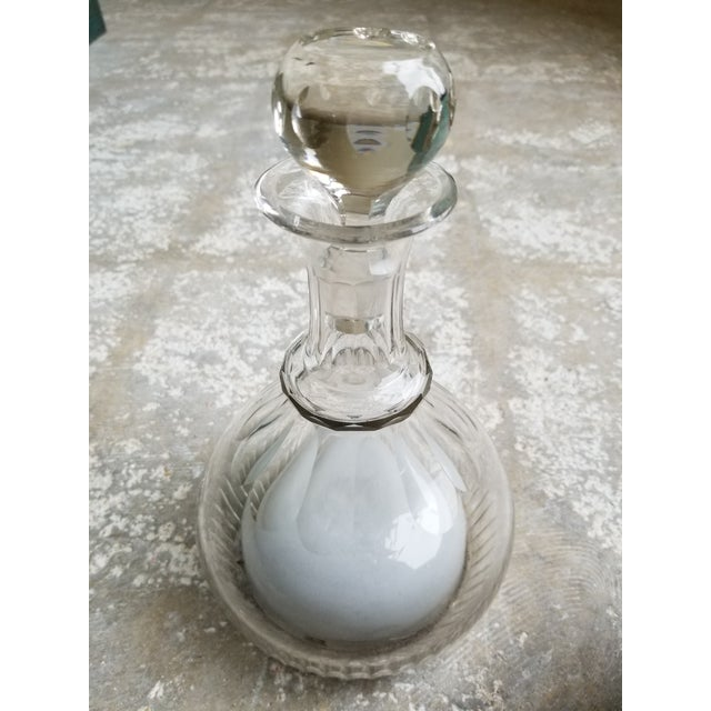 Early 19th Century Antique Crystal Musical Decanter For Sale - Image 5 of 11