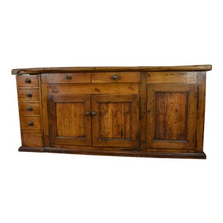 French Fruitwood Work Table or Sideboard, Circa 1780 For Sale