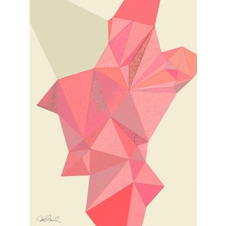 Origami Giclee Print, 18x24 With a 1 Inch Boarder For Sale
