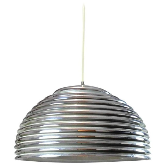 Saturno Hanging Lamp by Kazuo Motozawa for Staff Lights, 1970s For Sale - Image 6 of 6
