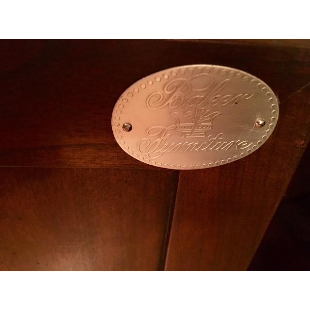 Brown Baker Furniture Bar Cart For Sale - Image 8 of 11