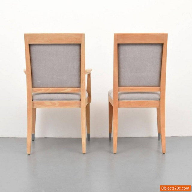 Jay Spectre for Century Mid-Century Modern Dining Chairs- Set of 8 For Sale In West Palm - Image 6 of 10