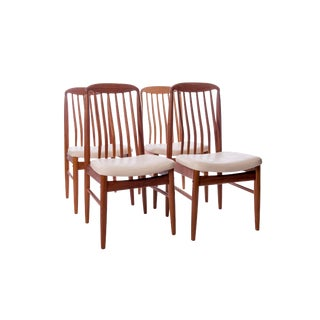 Danish Designer Benny Linden Teak Dining Chairs - Set of 4