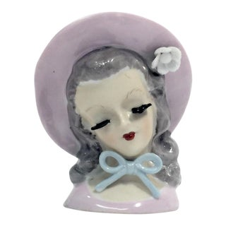 Little Bo Peep Head Vase For Sale