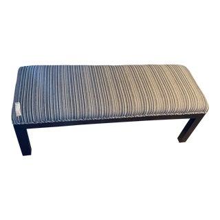 Kravet Contemporary Parson Bench For Sale