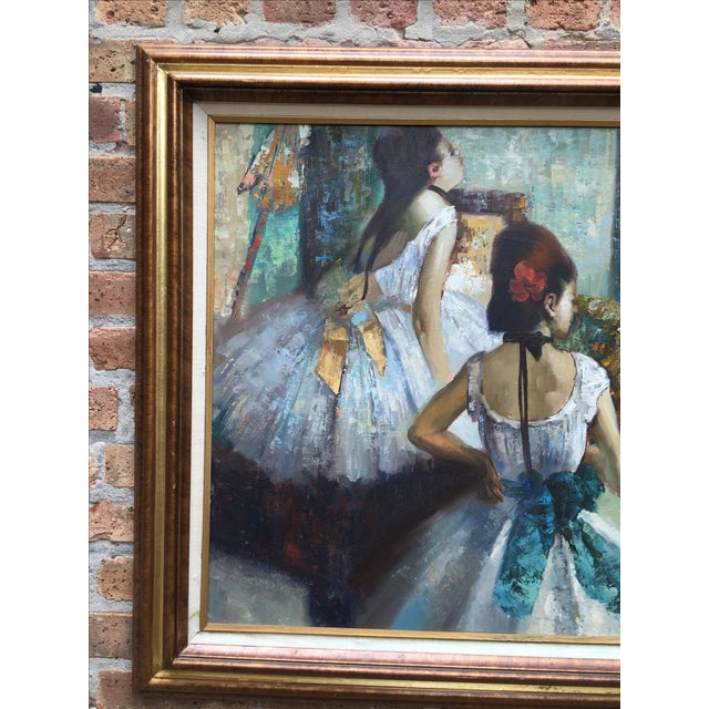 """Edgar Degas """"The Dance Class"""" Reproduction - Image 3 of 11"""