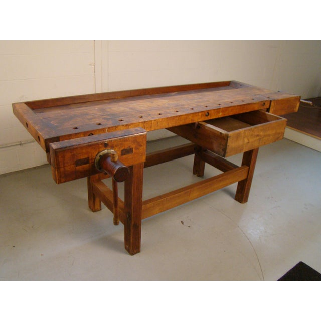 Antique Cabinet Maker S Woodworking Bench