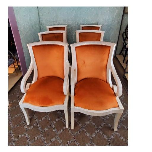 1980s 1980s Vintage Enrique Garcel Tiled Chairs- Set of 6 For Sale - Image 5 of 5