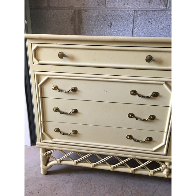 Ficks Reed Hollywood Regency Dresser - Image 6 of 6