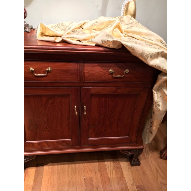Aurora Solid Rosewood Commode - Image 2 of 8